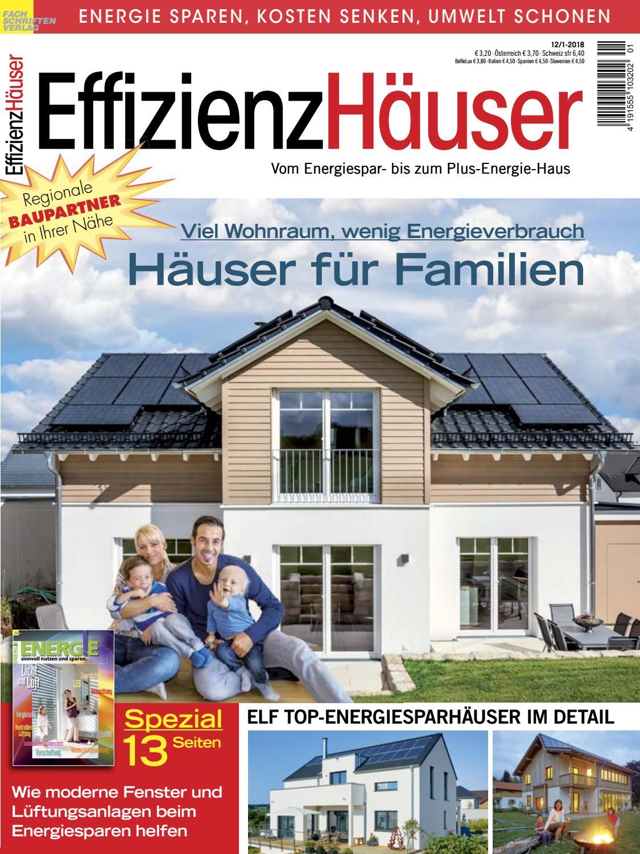 Effizienzhäuser 12/1-2018 by Fachschriften Verlag - issuu