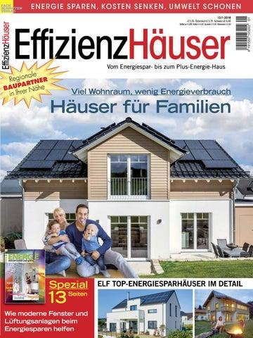 Effizienzhäuser 12/1 2018 By Fachschriften Verlag   Issuu