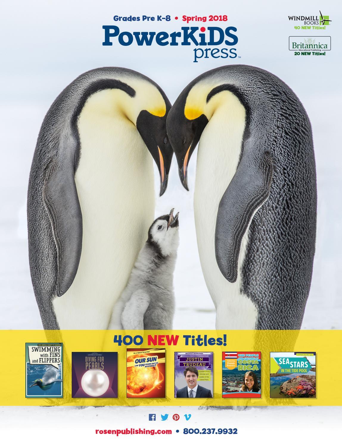 Powerkids Spring 2018 Catalog by Rosen Publishing - issuu