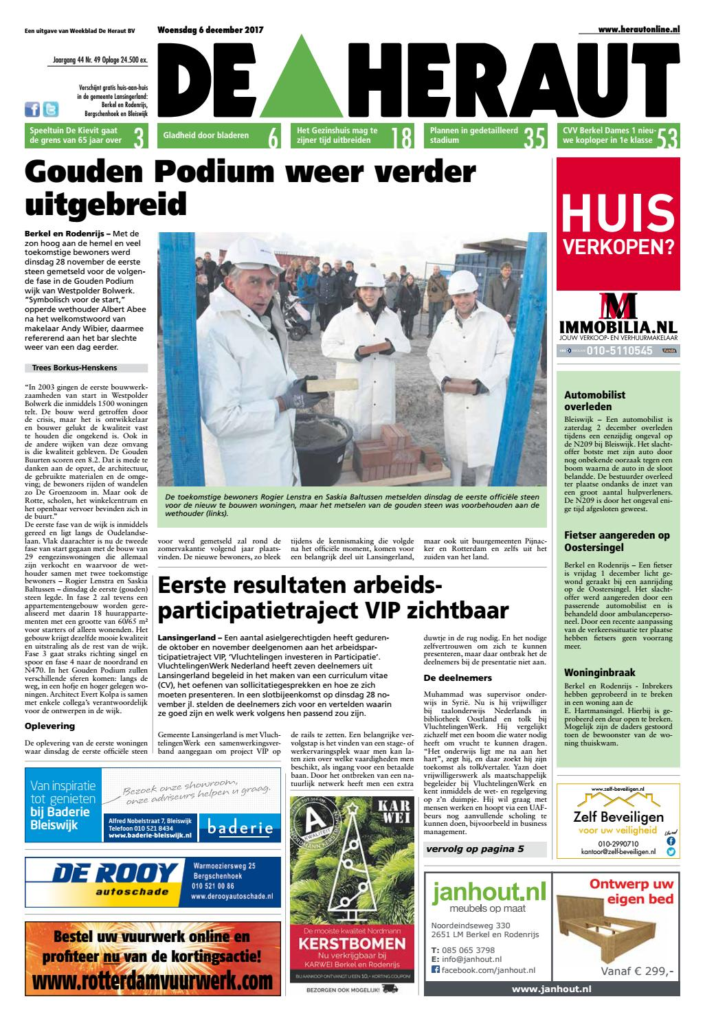 60655996fa9eb0 Heraut week 49 2017 by Nieuwsblad De Heraut - issuu