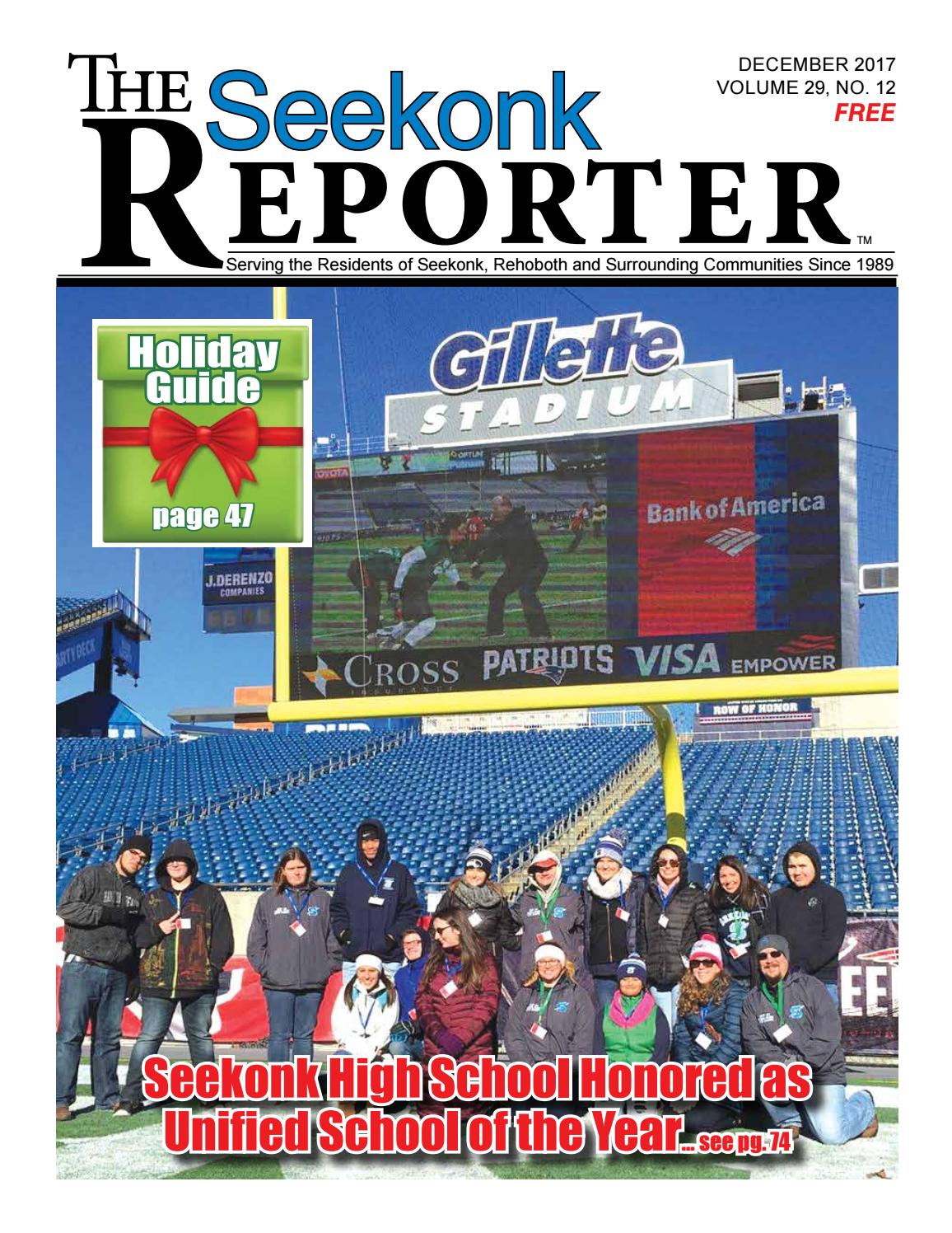 sports shoes 2c83c 4dada December 2017 Seekonk Reporter by Dick Georgia - issuu