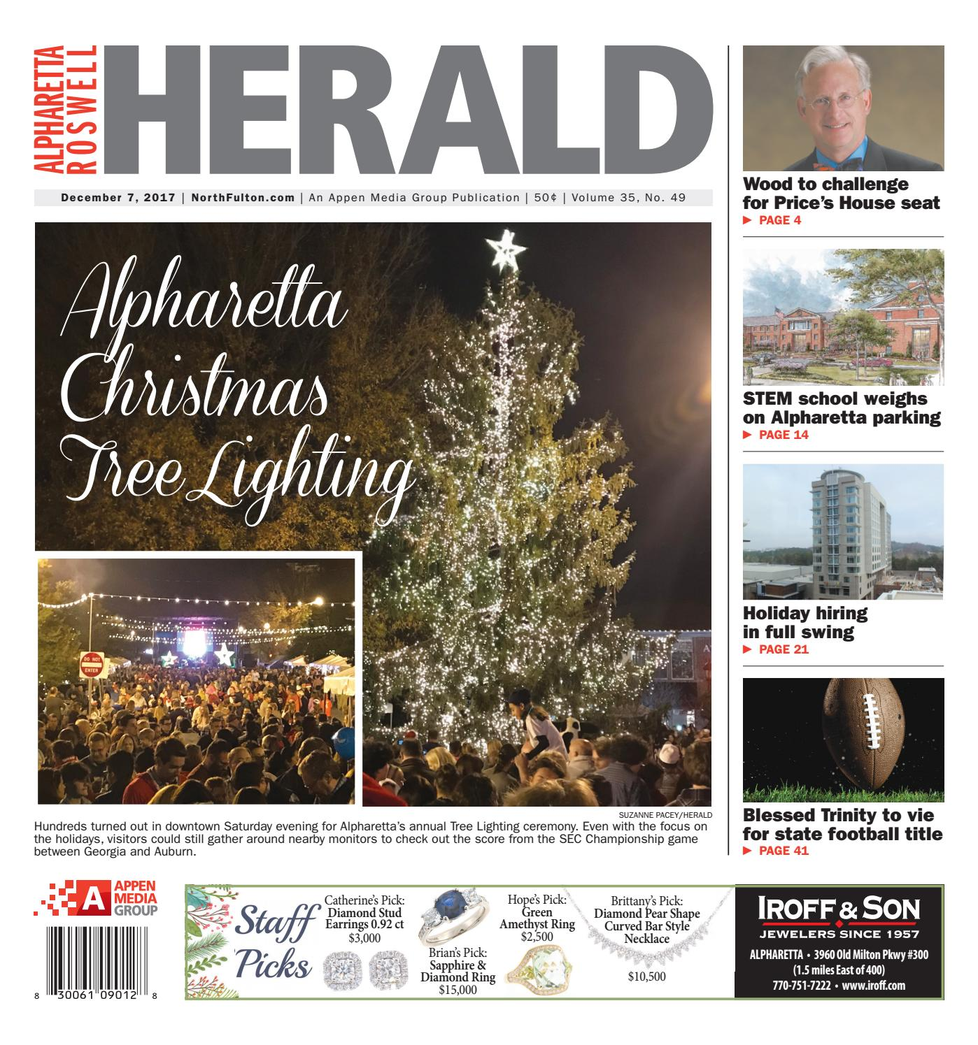 Alpharetta Roswell Herald December 7 2017 by Appen Media Group