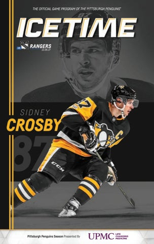 THE OFFICIAL GAME PROGRAM OF THE PITTSBURGH PENGUINS® PITTSBURGH PENGUINS  VS. NEW YORK RANGERS • 12.05.17 • GAME 13.   605522ab5