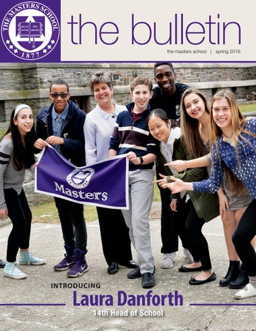 Masters school bulletin spring 2016 by the masters school issuu page 1 fandeluxe Image collections