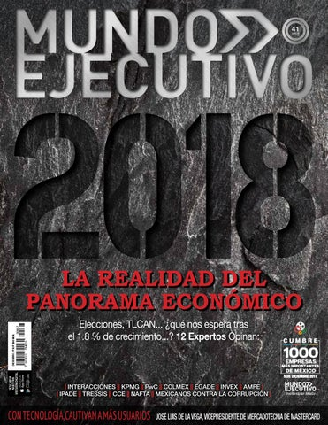 Mundo Ejecutivo Dic 2017 By Grupo Internacional Editorial Issuu