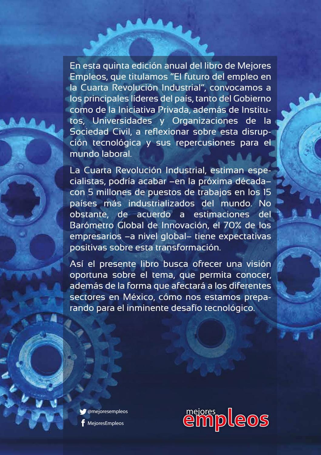 El futuro del empleo en la Cuarta Revolución Industrial by Mejores ...