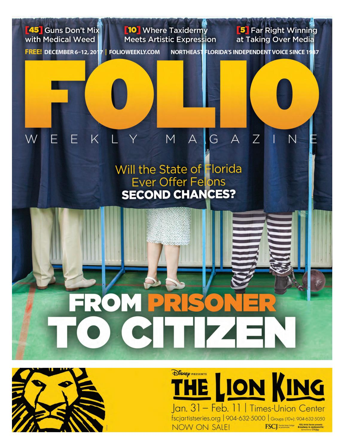 12/06/17 From Prisoner to Citizen by Folio Weekly - issuu
