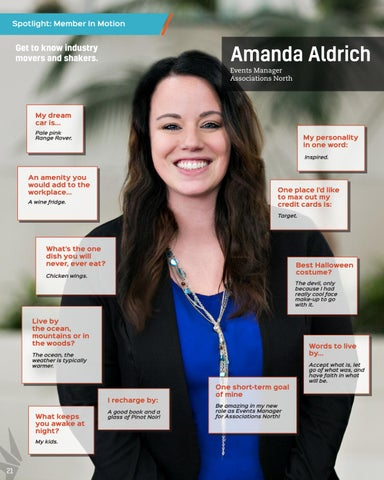 Page 22 of Amanda Aldrich, Associations North