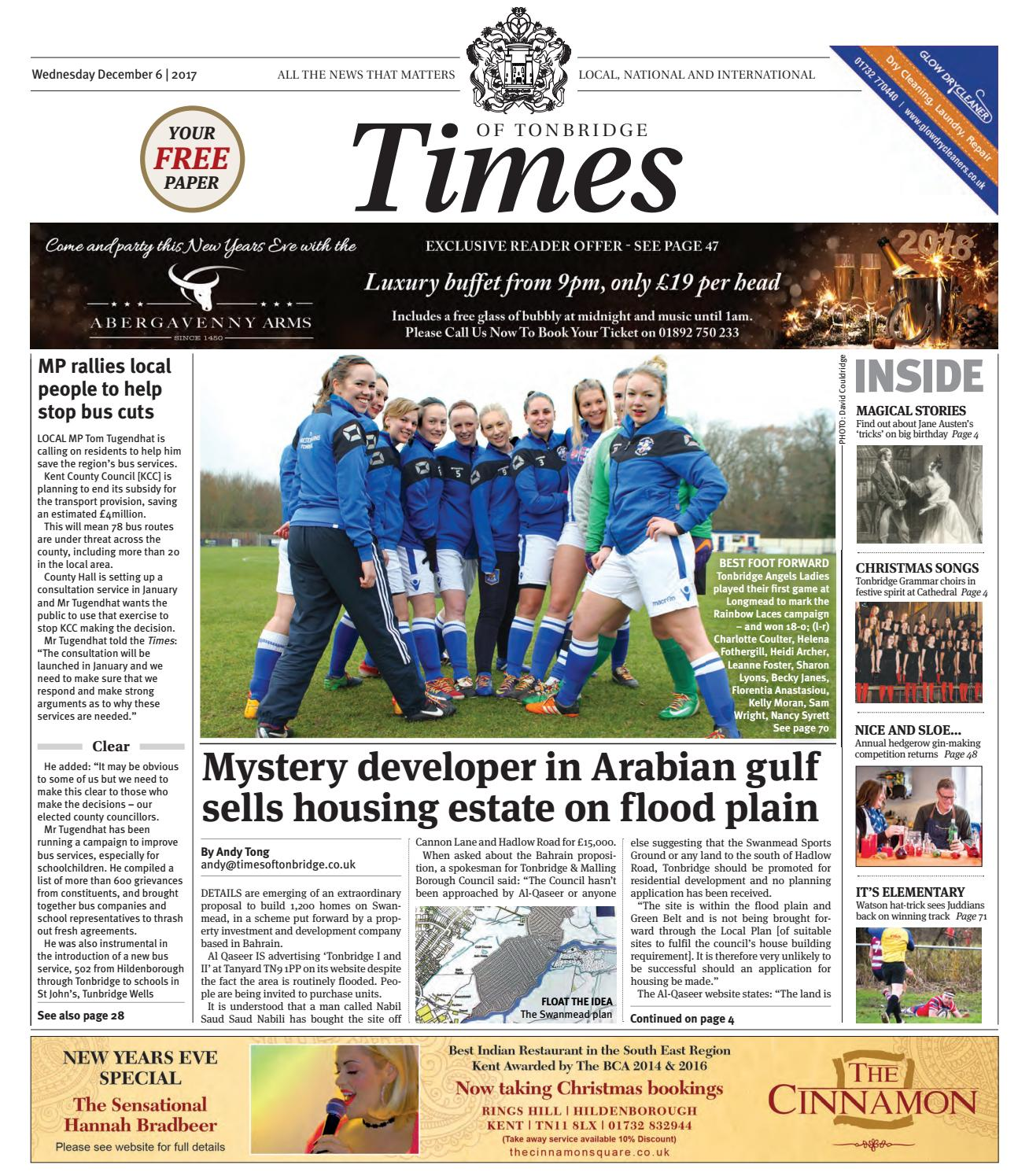 Times Of Tonbridge 6th December 2017 By One Media Issuu