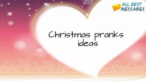 Christmas Pranks.10 Super Evil Christmas Gift Pranks On Allbestmessages By