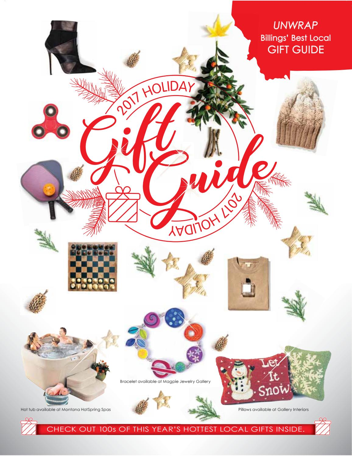 2017 holiday gift guide by Billings Gazette - issuu