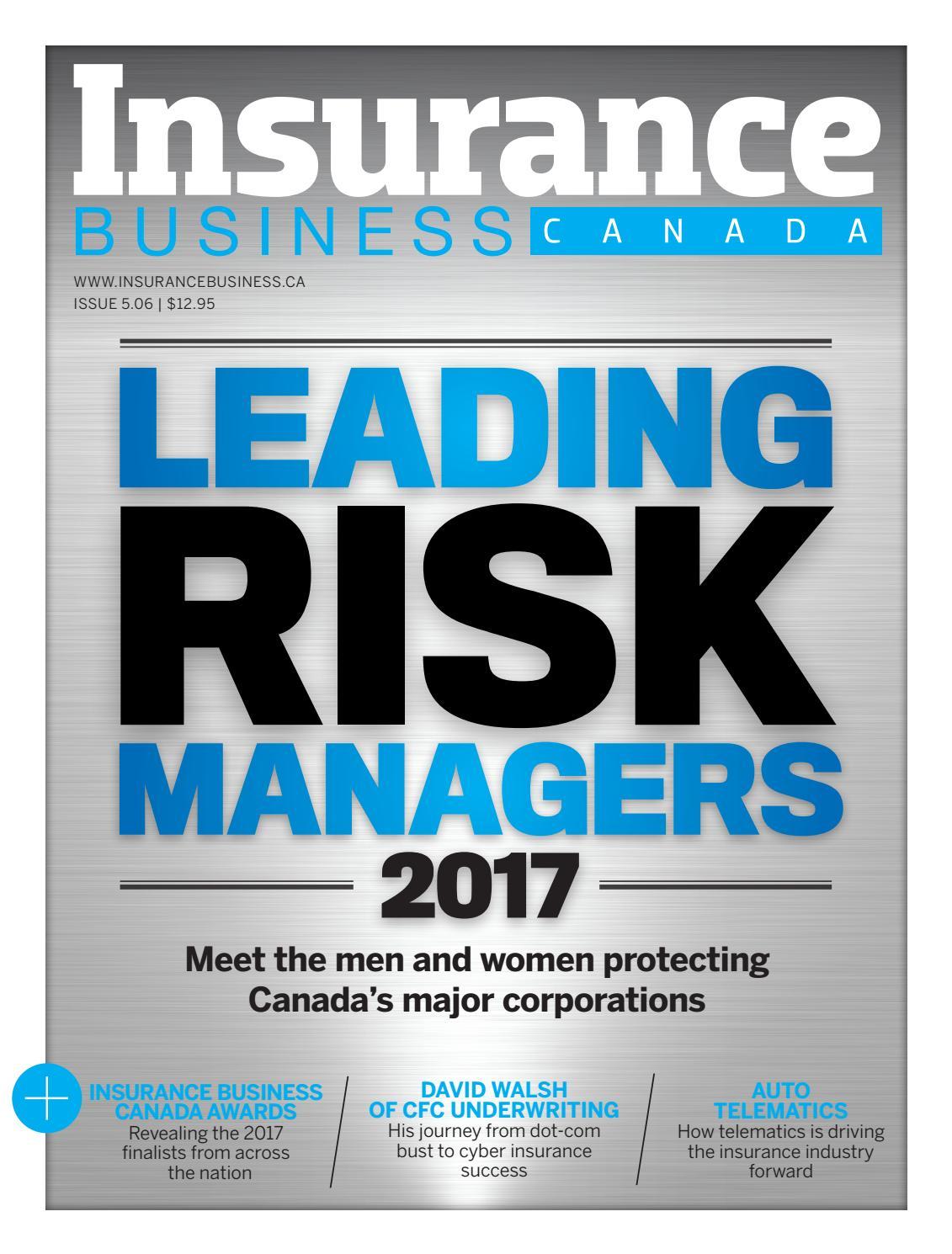 Insurance Business Canada 5.06 by Key Media - Issuu