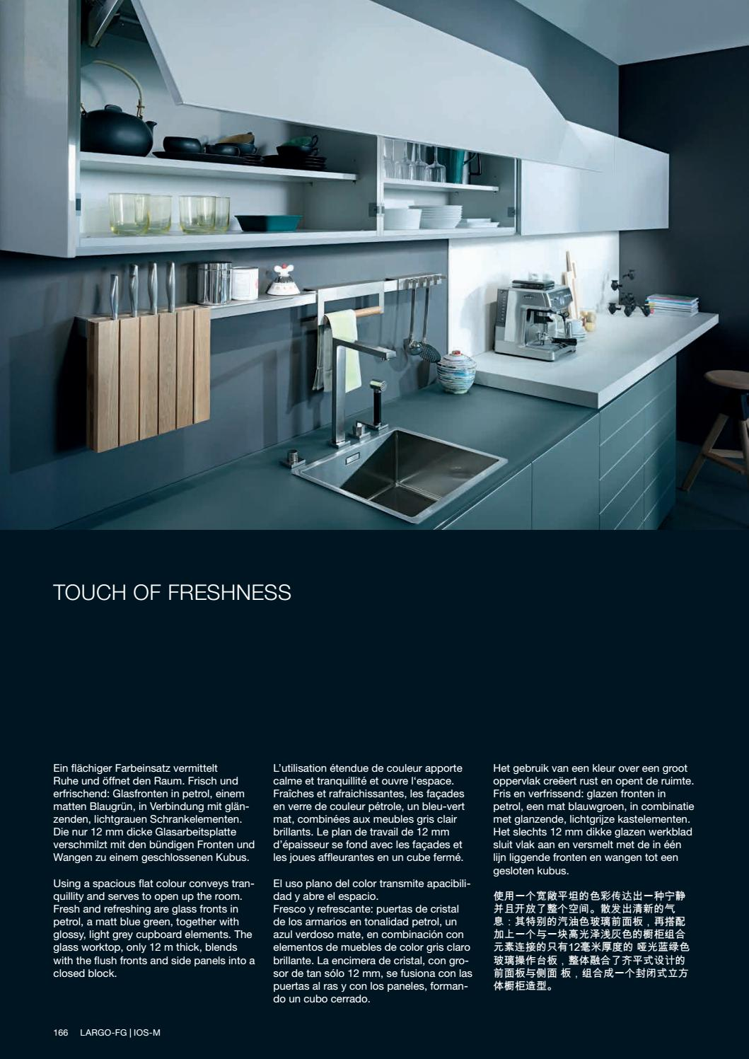 Plan De Travail Bleu divine design center - leicht - modern kitchens 17 - catalog