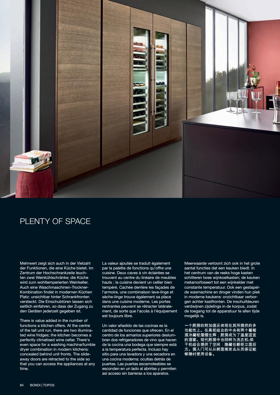 Cave À Vin Palette divine design center - leicht - modern kitchens 17 - catalog