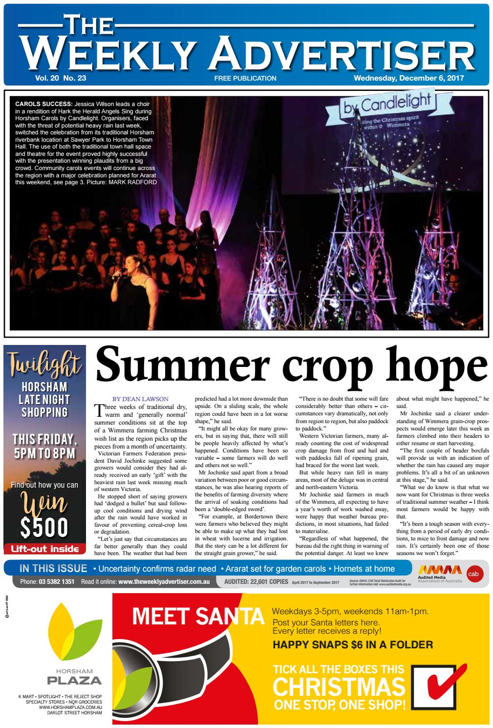 607df8bd205 The Weekly Advertiser - Wednesday