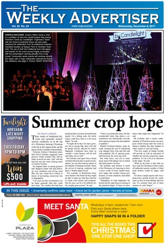 The Weekly Advertiser - Wednesday fee605ca5c8
