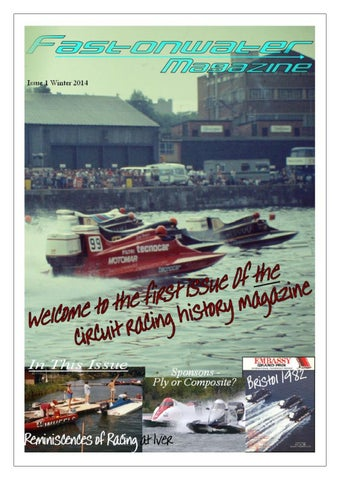 Fast On Water Magazine Issue 1