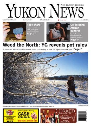 b7c10df654f Yukon News, November 22, 2017 by Black Press Media Group - issuu