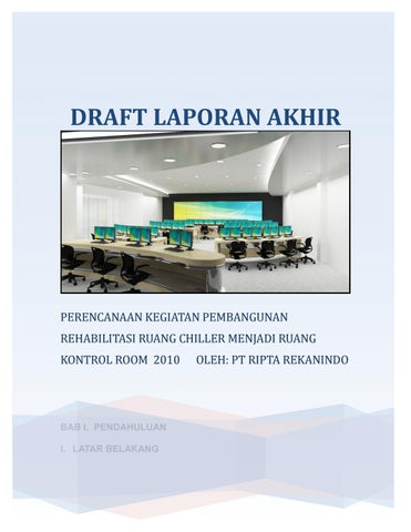 Draft Laporan Akhir Chilling Room By Yonianwar60 Issuu