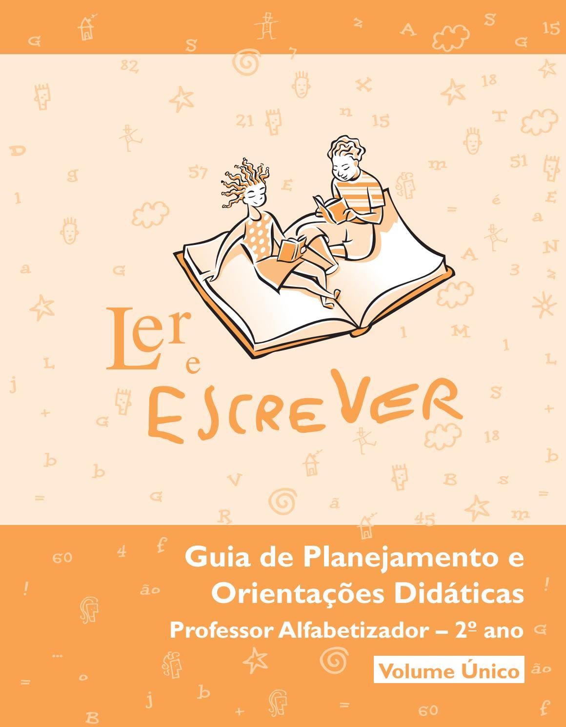 Ler E Escrever Segundo Ano Professor By Pnaic Ufscar Issuu