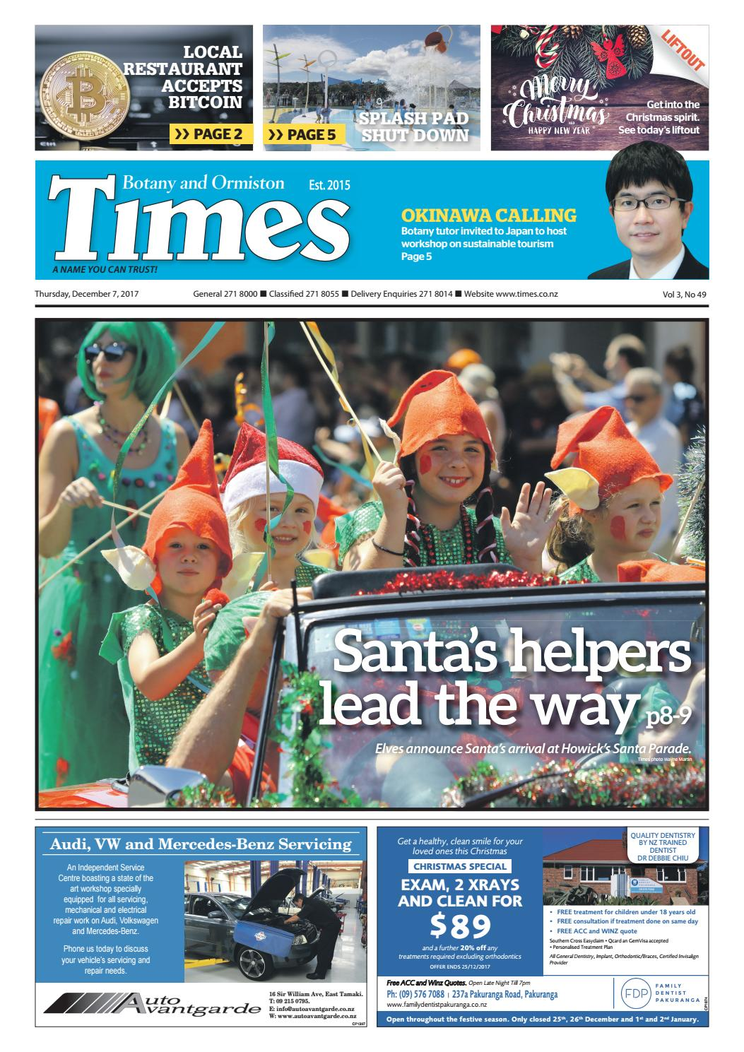 Botany And Ormiston Times 7 Dec 2017 By Times Media Issuu