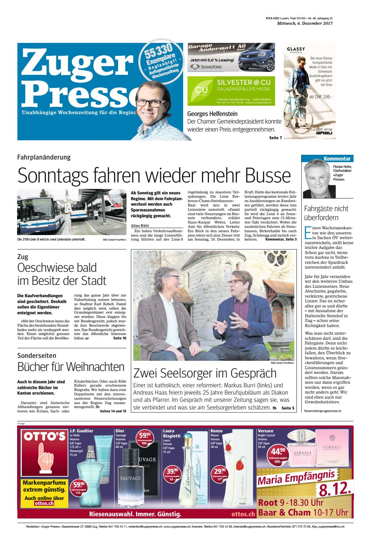 Wey-Tagwache: das war der Gdismontag in Luzern