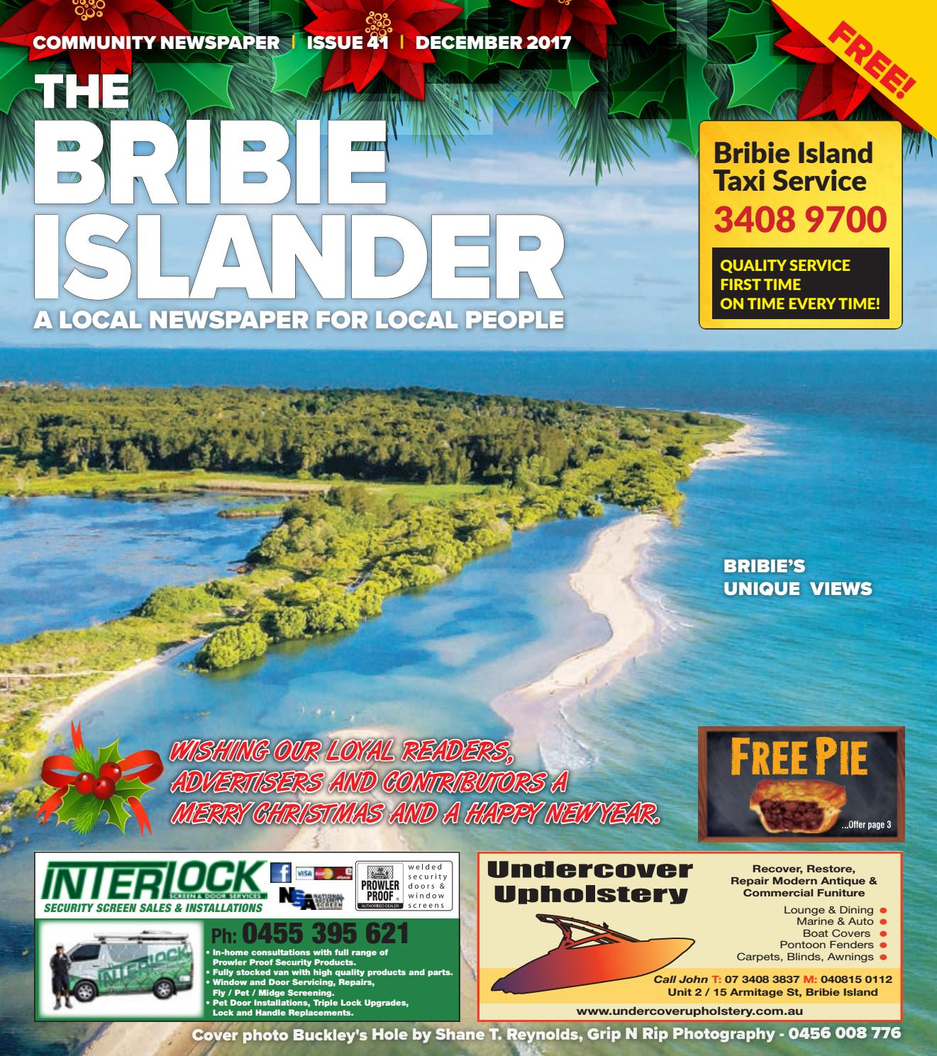 de5b0c17da413 The Bribie Islander December 2017 Issue 41 by The Bribie Islander ...