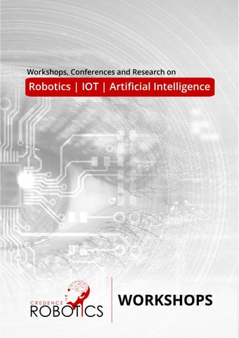Under Graduate Workshop Laboratory Brochure By Credence Robotics