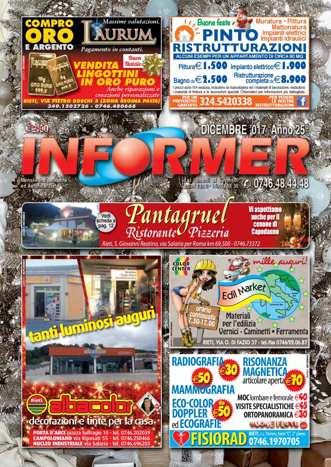 INFORMER dicembre 2017 by informer - issuu f527078483c