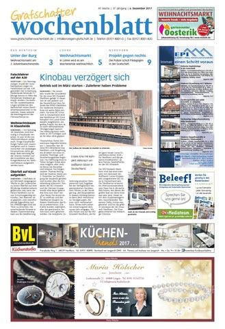 Grafschafter Wochenblatt 6 12 2017 By Sonntagszeitung Issuu