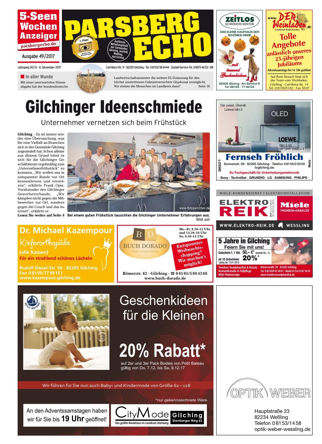 4ead2642174d4a KW 49-2017 by Wochenanzeiger Medien GmbH - issuu