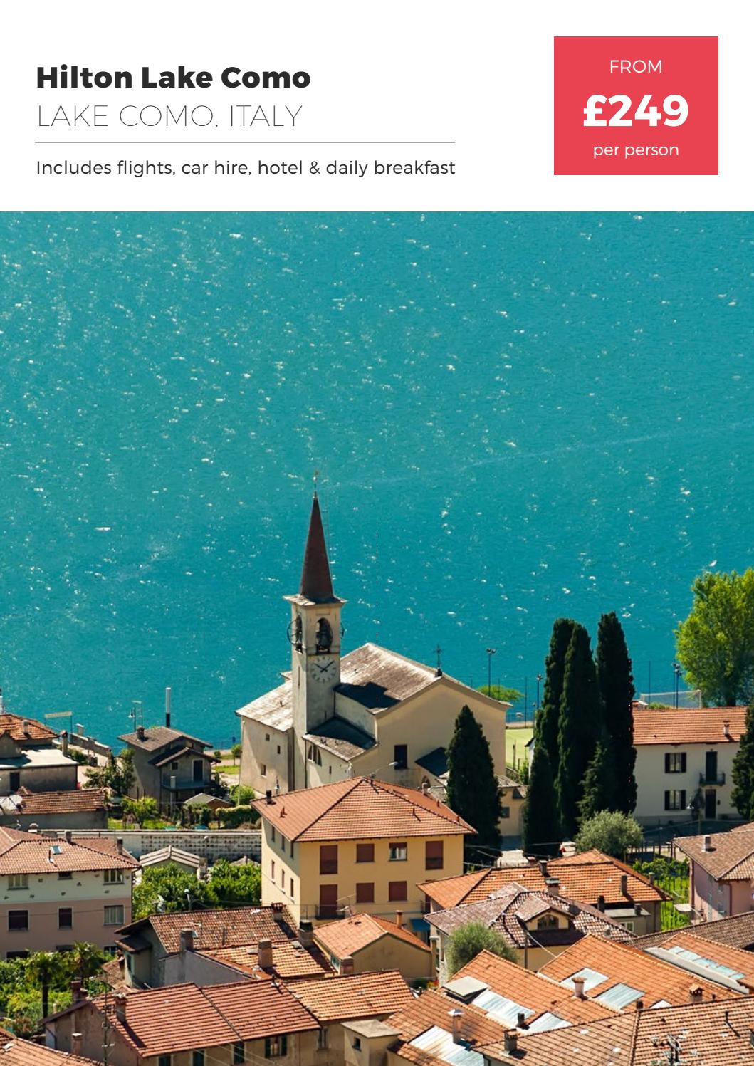 Hilton On Lake Como Italy By Fleetway Issuu