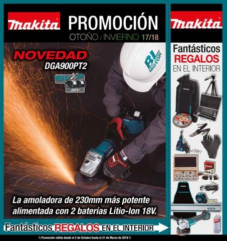 Promoción Makita Otoño-Invierno 2017-18