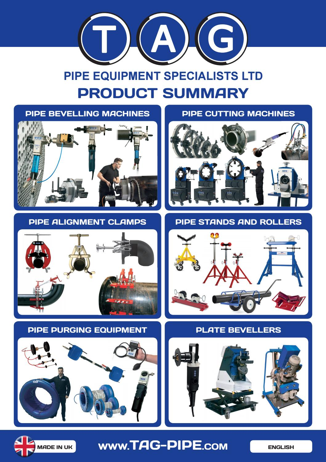 TAG Pipe Product Summary_english by TAG-PIPE - issuu