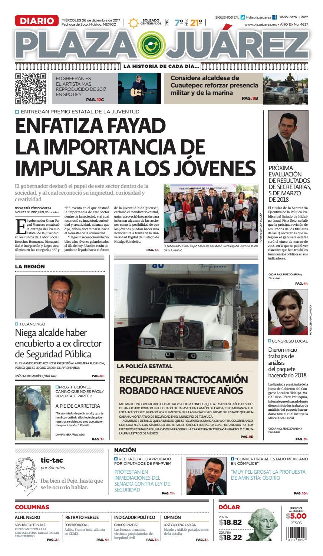 ca95e8a7a6239 06 12 17 (1) by Diario Plaza Juárez - issuu