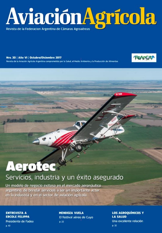 Revista AVIACIÓN AGRÍCOLA Nº 20 by Federación Argentina de Cámaras ...
