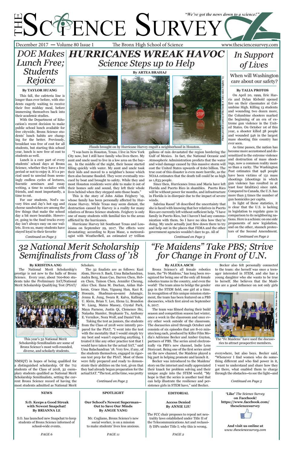 volume 104 issue 16 by the stuyvesant spectator issuu