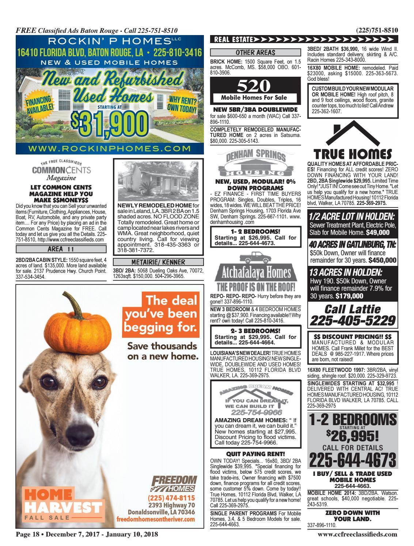Common Cents Magazine 12-07-17 by Common Cents Magazine - issuu