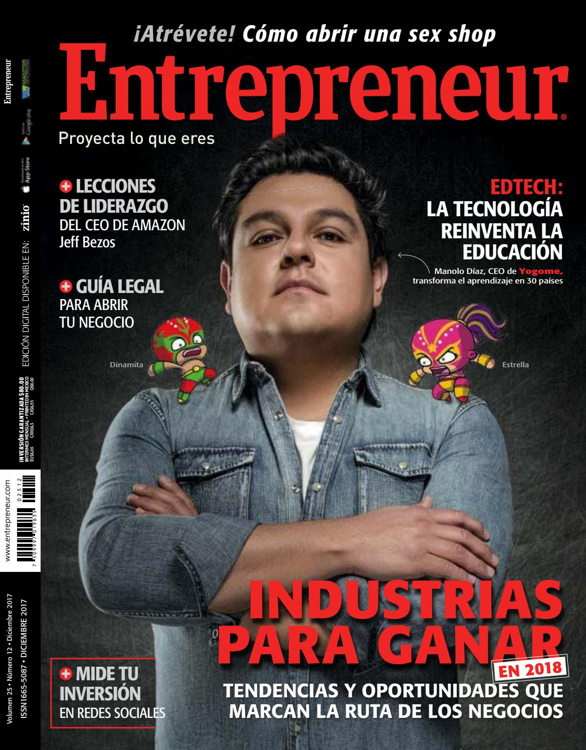 Entrepreneur diciembre 2017 by IsaacALS - issuu