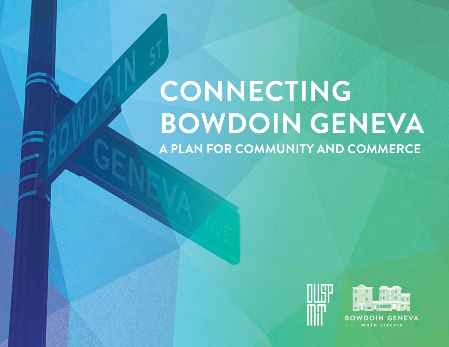 Connecting Bowdoin Geneva By Mit Dusp Issuu