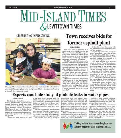 Mid-Island Times & Levittown News (12/8/17) by Litmor