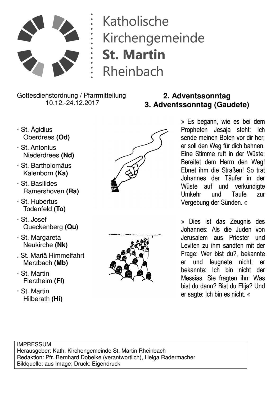 50 51 17 10 24 12 2017 by Katholische Kirchengemeinde St. Martin ...