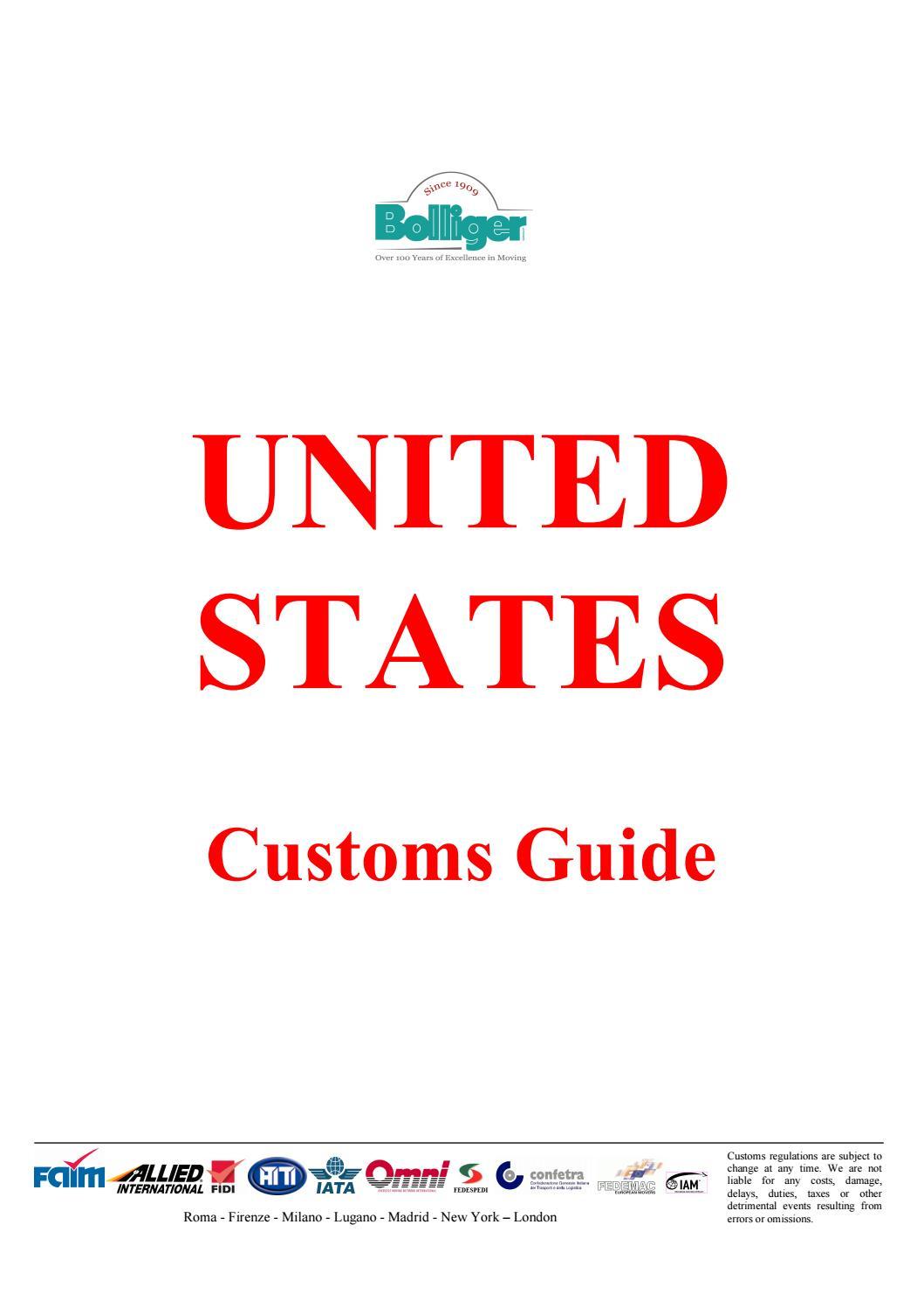 us customs guide by bolliger uk ltd issuu rh issuu com Brand Guidelines.pdf Brand Strategy