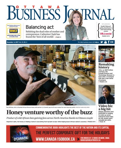 Ottawa Business Journal December 4 2017 By Great River Media Inc Issuu
