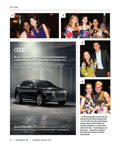 Durham Magazine DecJan By Shannon Media Issuu - Audi raleigh