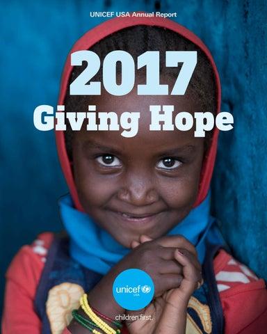 2017 Unicef Usa Annual Report By Unicef Usa Issuu