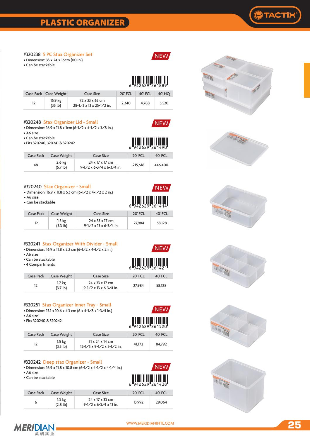 Tactix storage catalogue 2016 by PERNOSTOCK - issuu