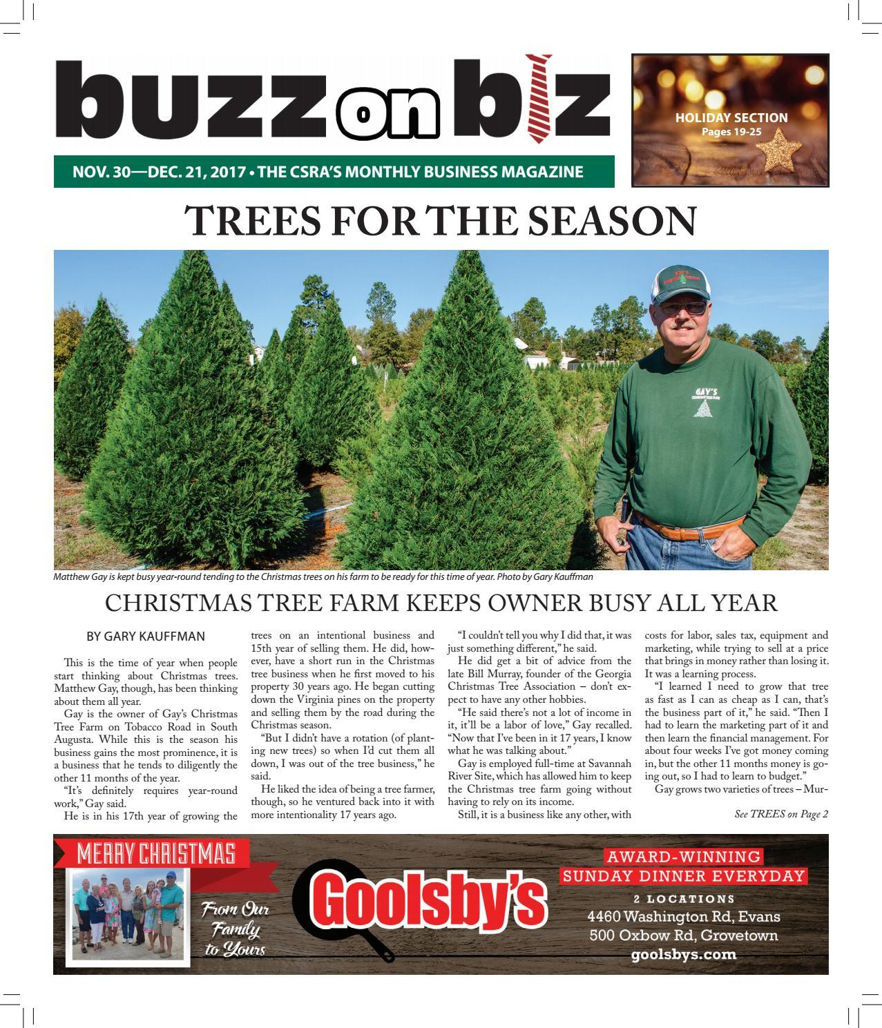 Buzz On Biz November 30 2017 Issue By Gary Kauffman Issuu