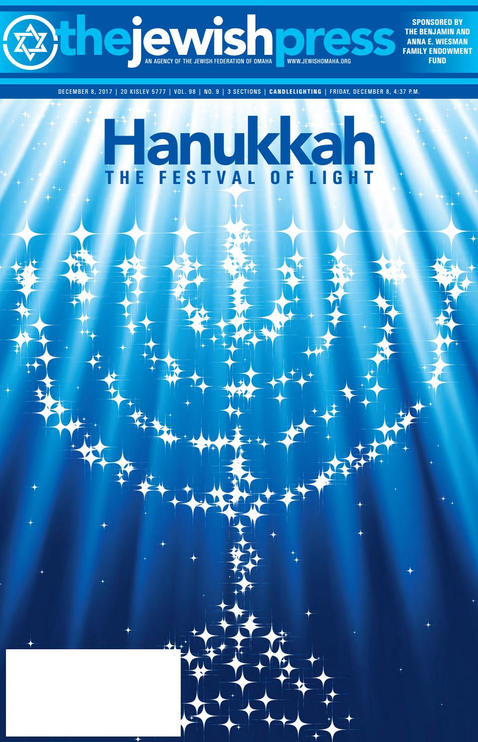 December 8 2017 Hanukkah Edition By Jewish Press Issuu