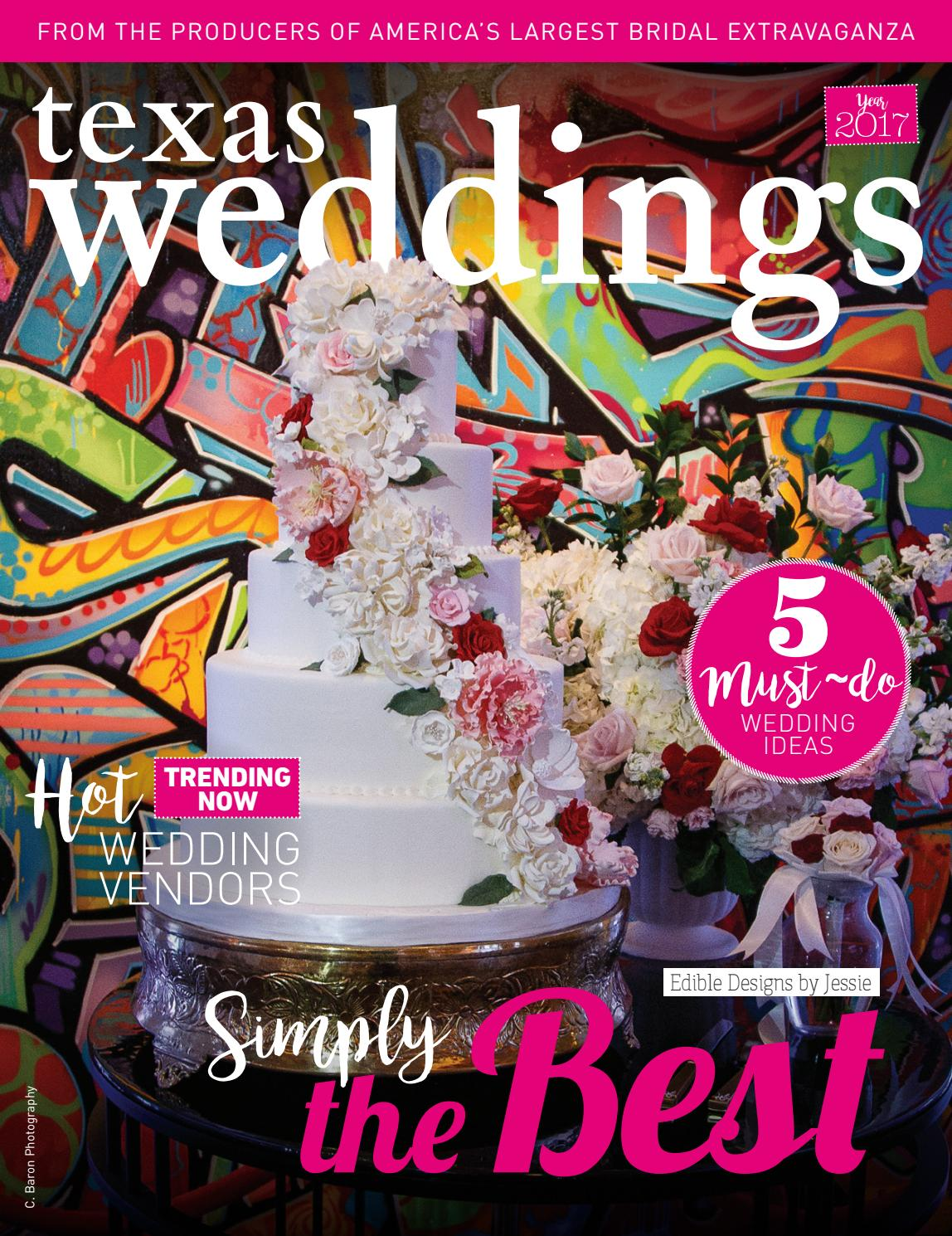 1c6e7801edf482 Edible Designs by Jessie on Texas Weddings by Bridal Extravaganza ...